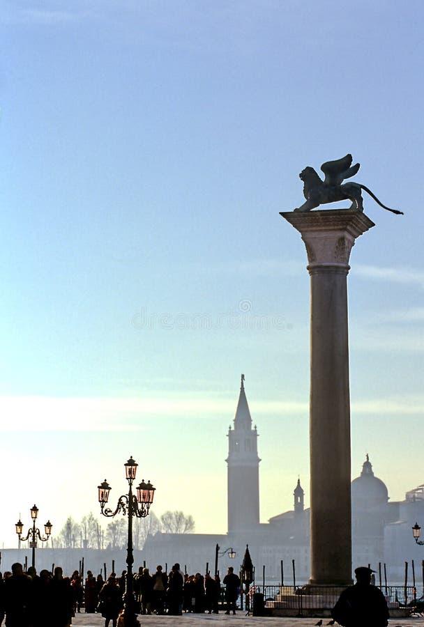 place san Venise de marco de l'Italie de Di photographie stock
