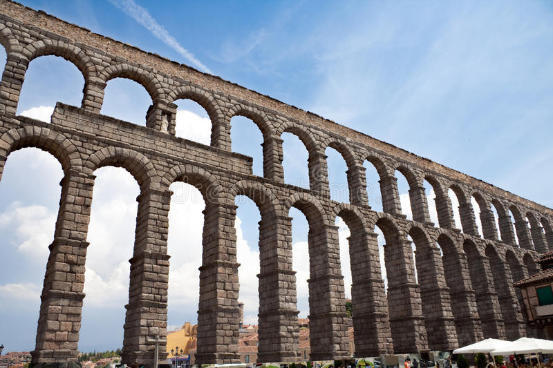 Place of Segovia stock images