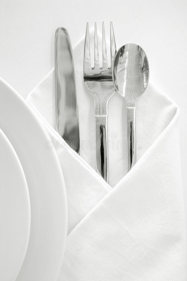 Place setting 1 royalty free stock images