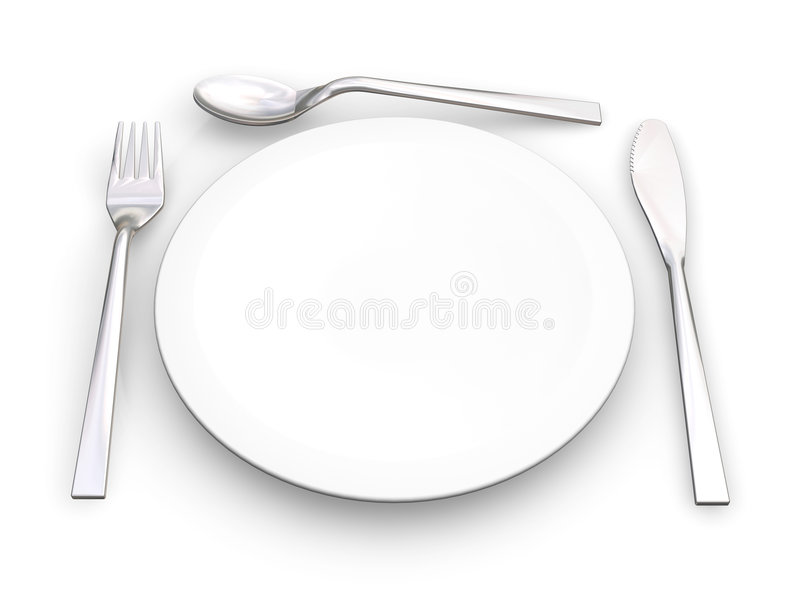 Download Place Setting Royalty Free Stock Photos - Image: 1072558