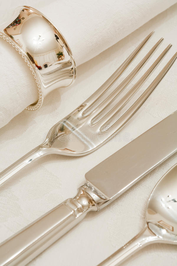 Download Place setting stock photo. Image of close, closeup, banqueting - 12363758