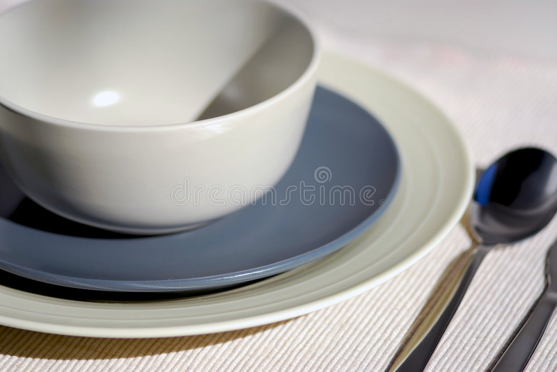 Download Place setting stock image. Image of fork, restaurant, plate - 1569643