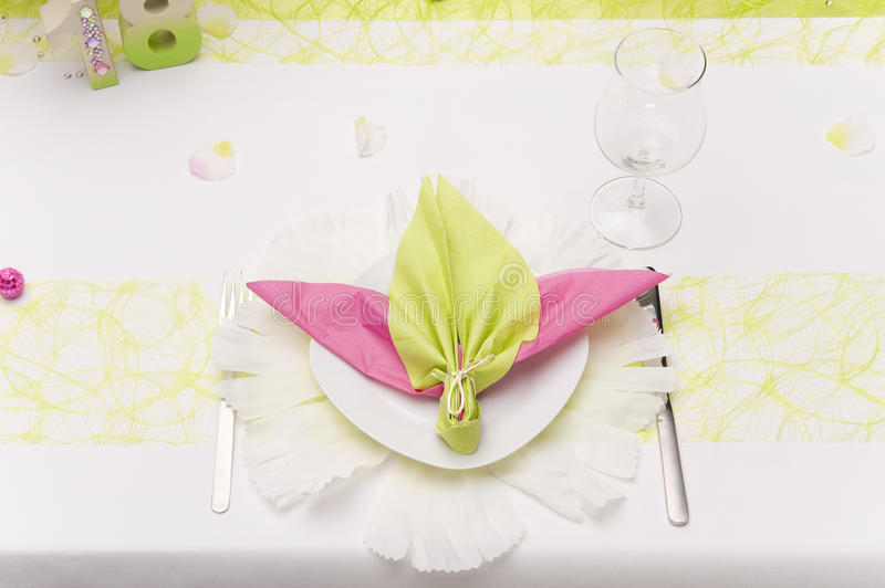 Download Place setting stock image. Image of fork, ornamentation - 22301875