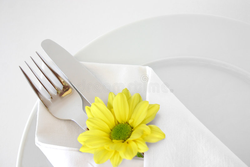 Place setting 4 royalty free stock images