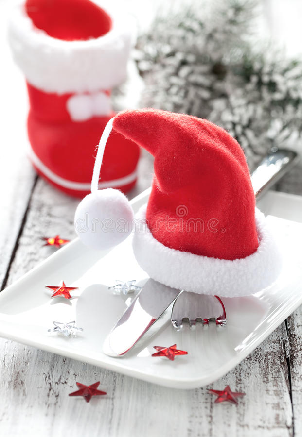 Download Place Setting For Christmas Royalty Free Stock Photo - Image: 20523585