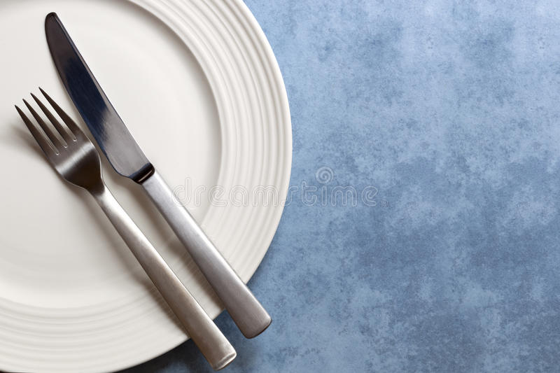 Download Place Setting With Copy Space Stock Image - Image: 28907851