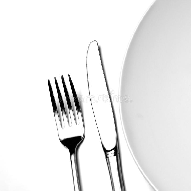 Download Place Setting on White stock image. Image of dinner, setting - 25456835