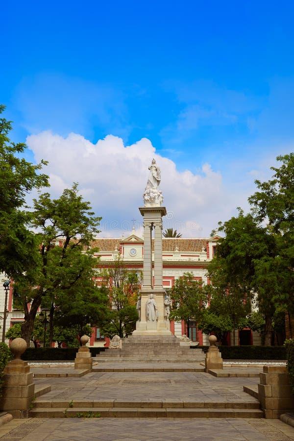 Place Sevilla Andalusia de Triunfo de plaza de Séville images stock