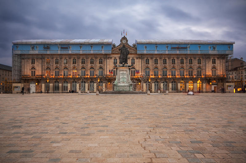 Place Stanislas in Nancy, France. royalty free stock images