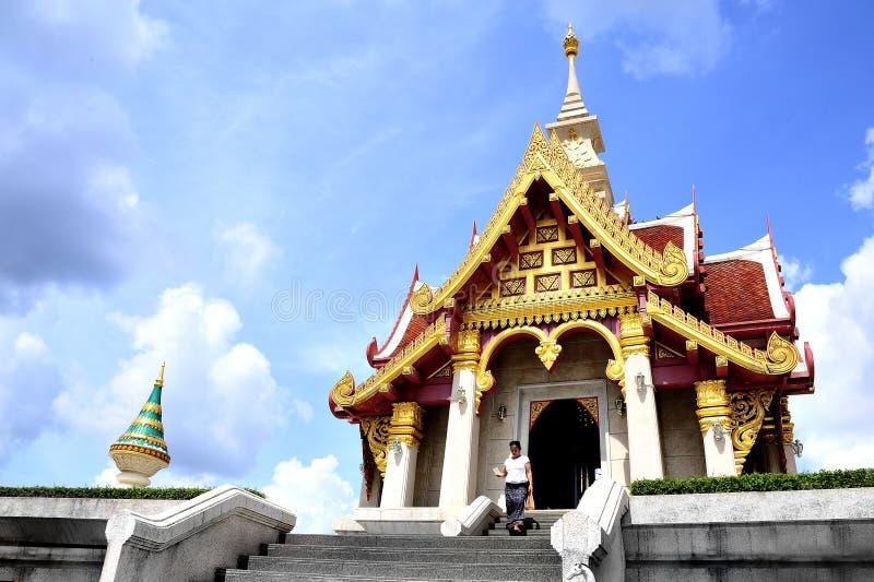 Place thaïe de respect image libre de droits