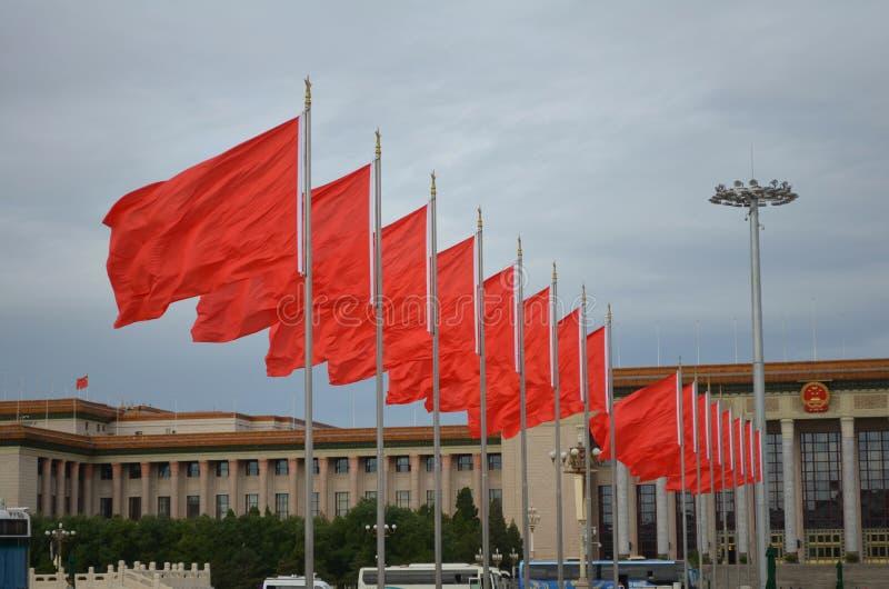 Place Tiananmen, Pékin photos stock