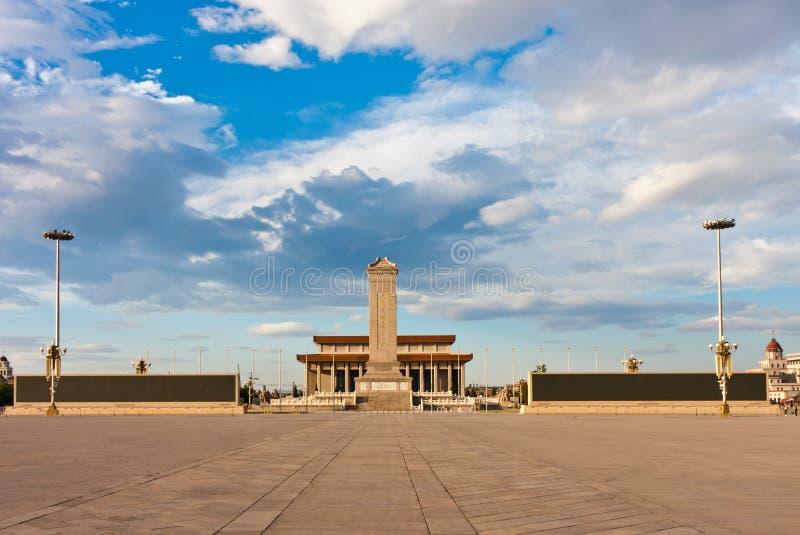 Place Tiananmen, Pékin, Chine photo libre de droits