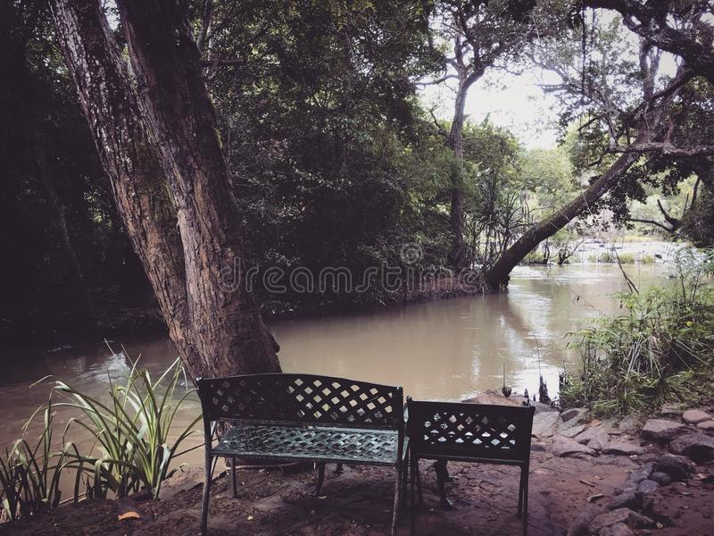 A place to think. stock images