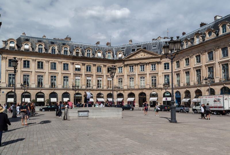 Place Vendome Paris royalty free stock photos