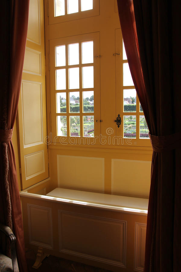 Place by the window royalty free stock photos