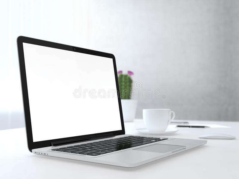 Download Place of work stock illustration. Image of blank, economic - 32624180