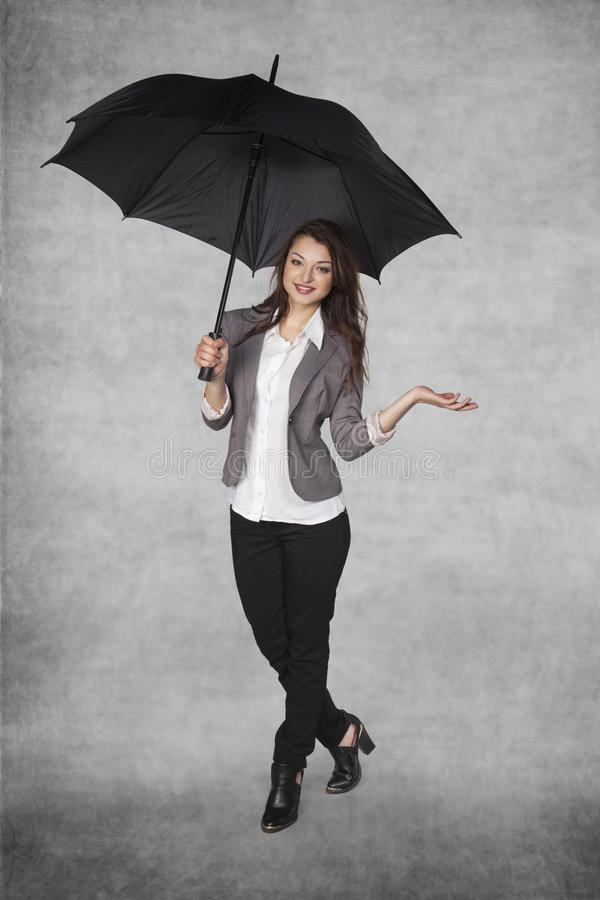 Place on your advertising under the umbrella stock photo