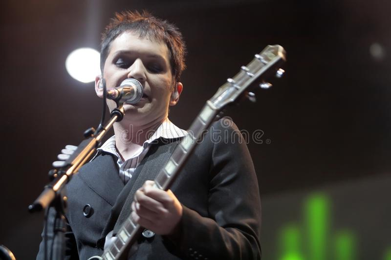 PLACEBO CONCERT royalty free stock photo