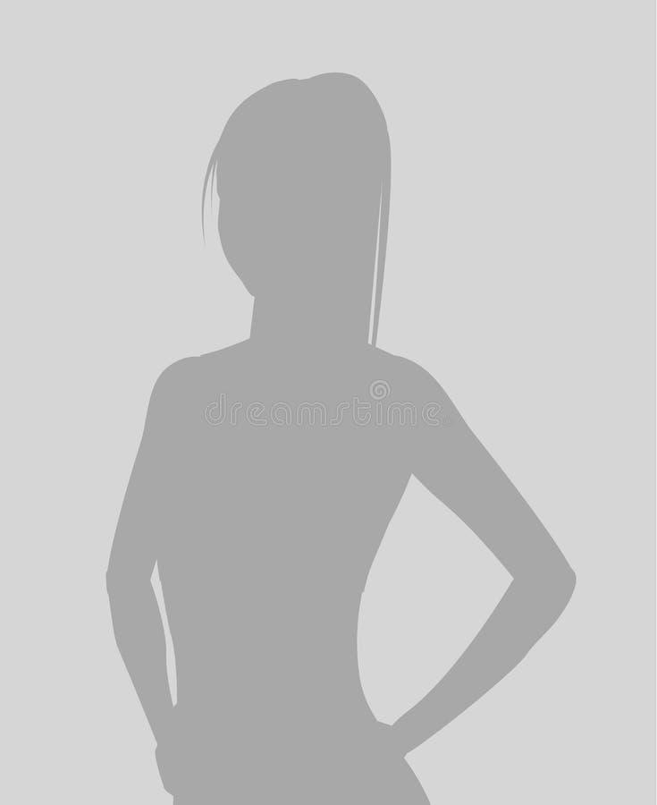 Placeholder de la foto del defecto ilustración del vector