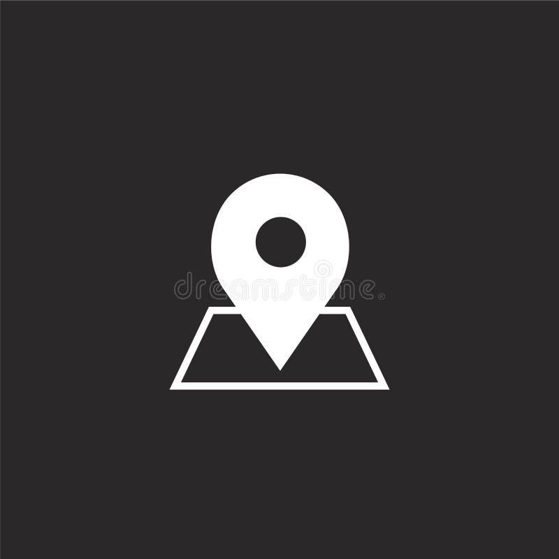 Placeholder ikona Wypełniająca placeholder ikona dla strona internetowa projekta i wiszącej ozdoby, app rozwój placeholder ikona  royalty ilustracja