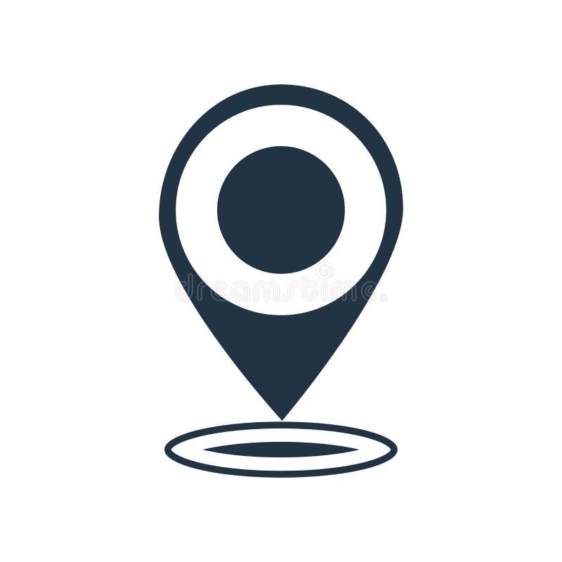 Placeholder ikony wektor odizolowywający na białym tle, Placeholder znak royalty ilustracja