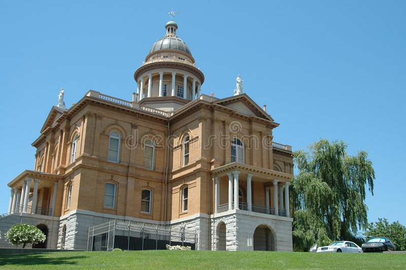 Placer County Courthouse royalty free stock image