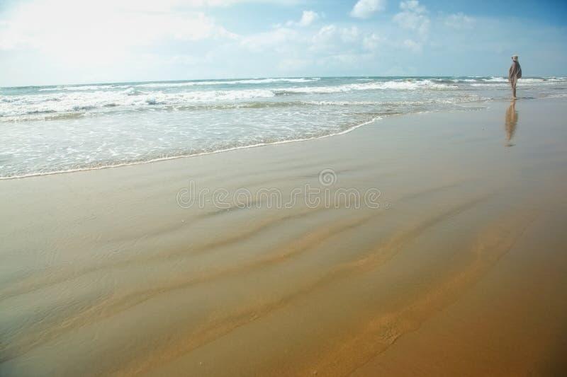 Placer en la playa fotos de archivo libres de regalías