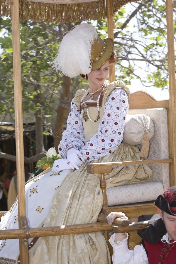 Placer Faire - la reina 1 del renacimiento foto de archivo libre de regalías