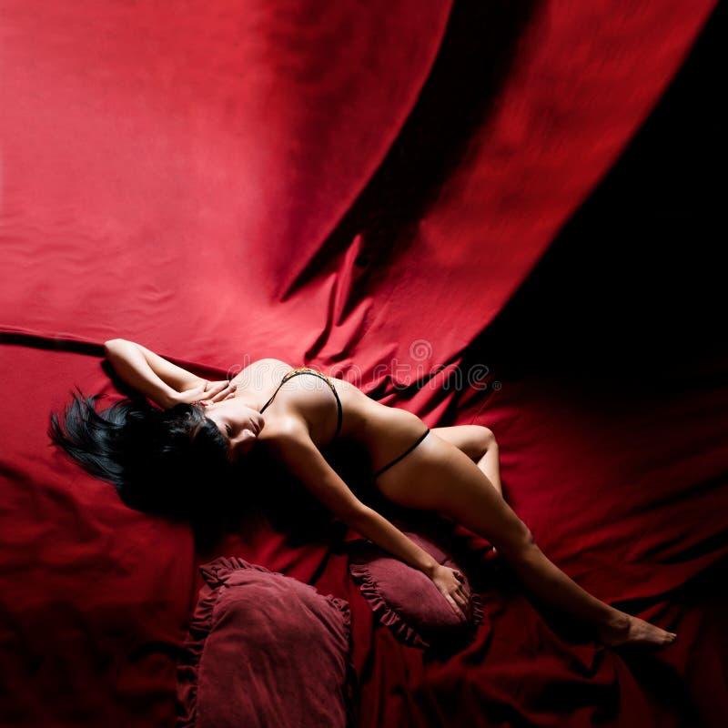 Placer sensual imagen de archivo libre de regalías