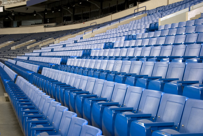 placerar stadion royaltyfri bild