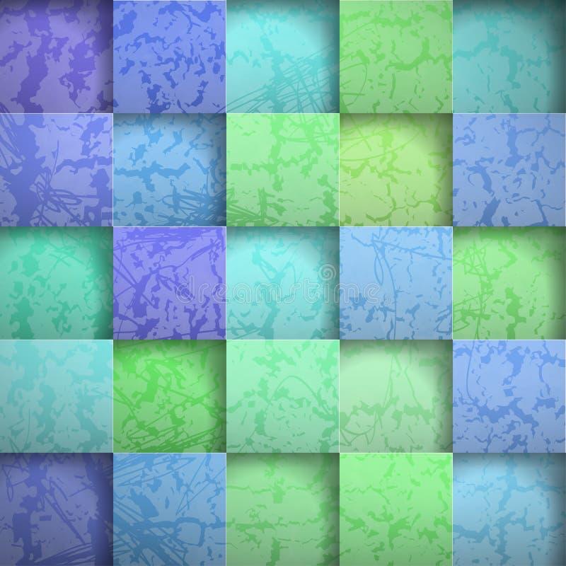 Places abstraites de pierre de fond illustration de vecteur