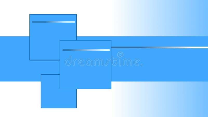 Places bleues et blanches, fond rayé pour des cartes, pages et présentations illustration de vecteur
