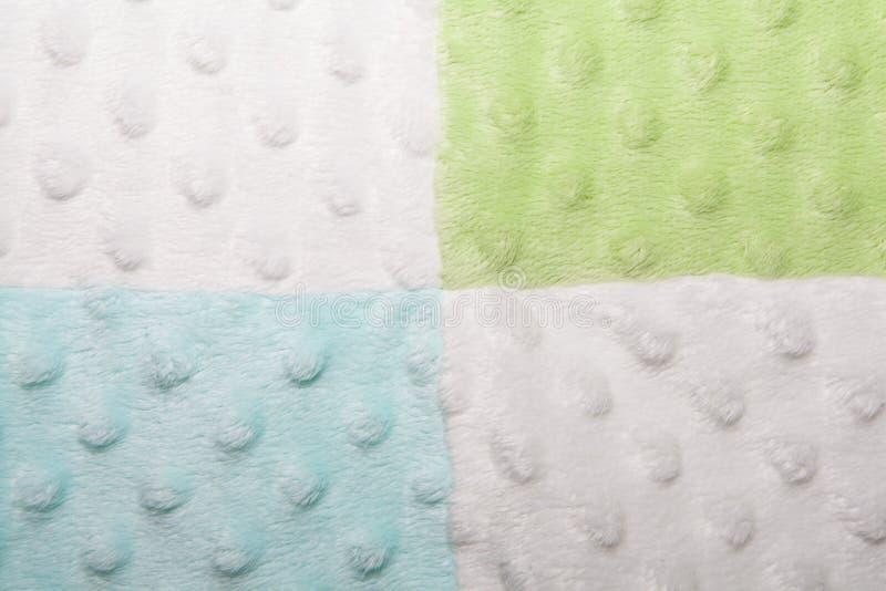 Places bleues, vertes et blanches et texture de bulle photographie stock libre de droits