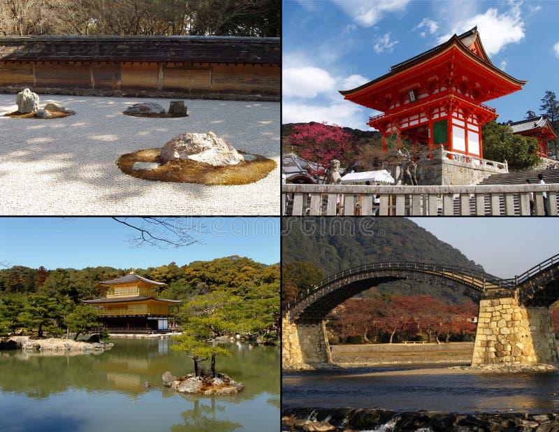 Places célèbres au Japon image stock