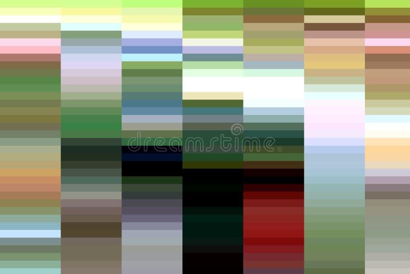 Places colorées, fond abstrait, imagination illustration libre de droits