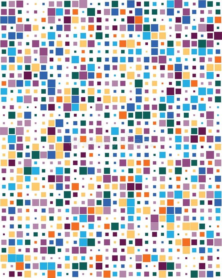 Places colorées, sans couture illustration libre de droits