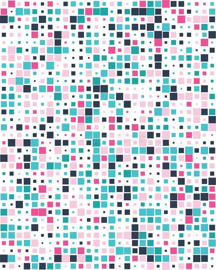 Places colorées, sans couture illustration stock