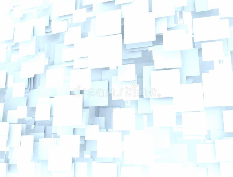 Places de Digital 3d illustration de vecteur