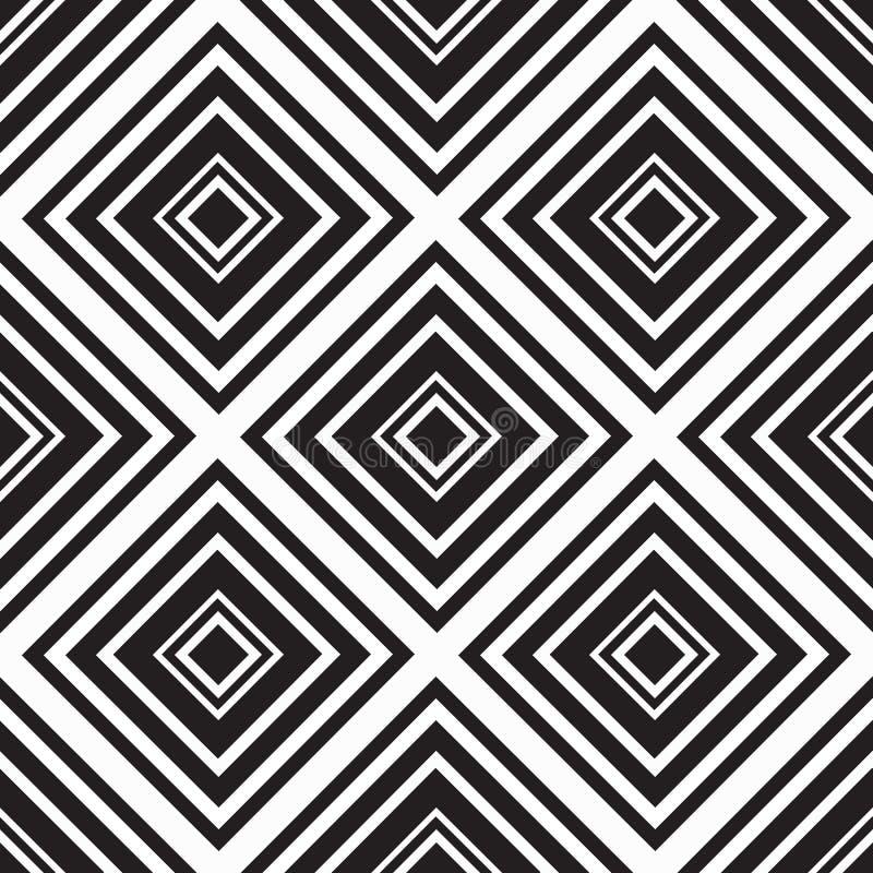 Download Places Monochromes Sans Couture D'ornement Illustration de Vecteur - Illustration du conception, géométrique: 56477818
