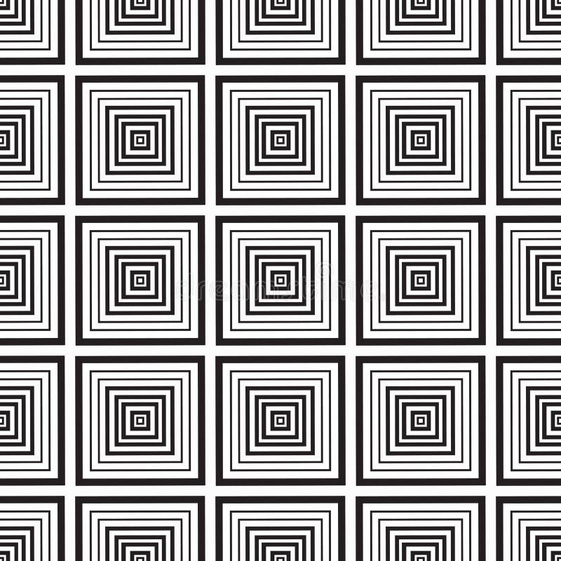 Download Places Monochromes Sans Couture D'ornement Illustration de Vecteur - Illustration du complexe, abstrait: 56478005