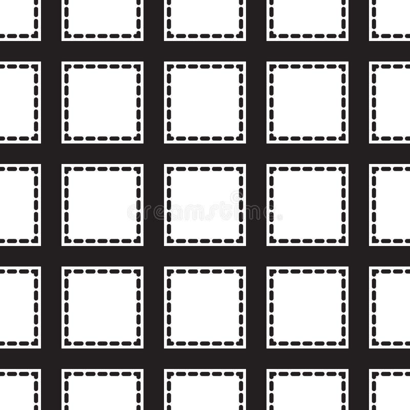 Download Places Monochromes Sans Couture D'ornement Illustration de Vecteur - Illustration du forme, polygones: 56478078
