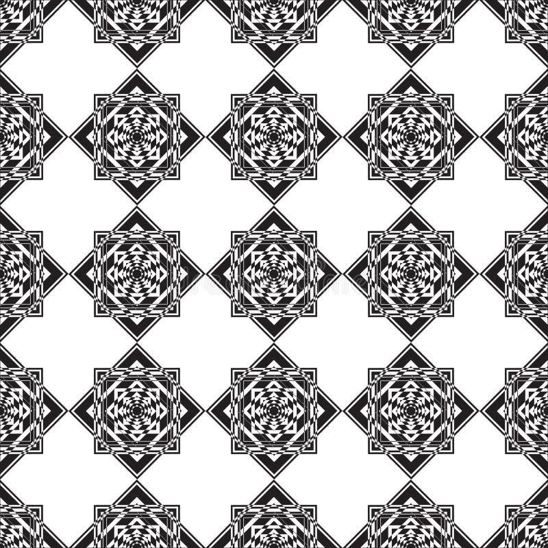 Download Places Monochromes Sans Couture D'ornement Illustration de Vecteur - Illustration du produit, configuration: 56478149