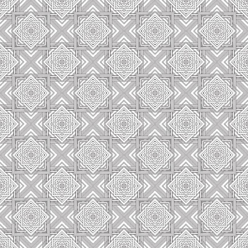 Download Places Monochromes Sans Couture D'ornement Illustration de Vecteur - Illustration du descripteur, conception: 56478167