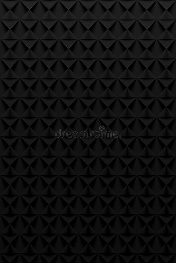 Places noires - fond vertical abstrait illustration de vecteur