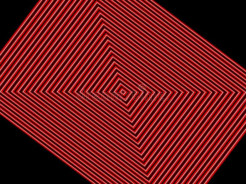 Places rouges sur le fond noir illustration stock