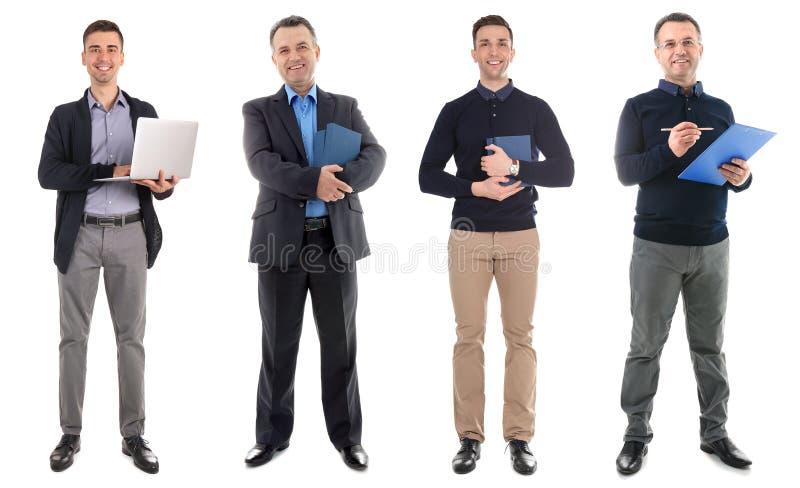 Placez avec différents professeurs photographie stock libre de droits