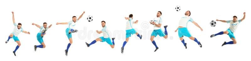 Placez avec le playe du football professionnel photos stock