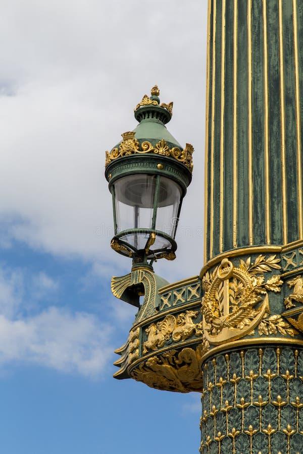 Placez Concorde Paris image libre de droits
