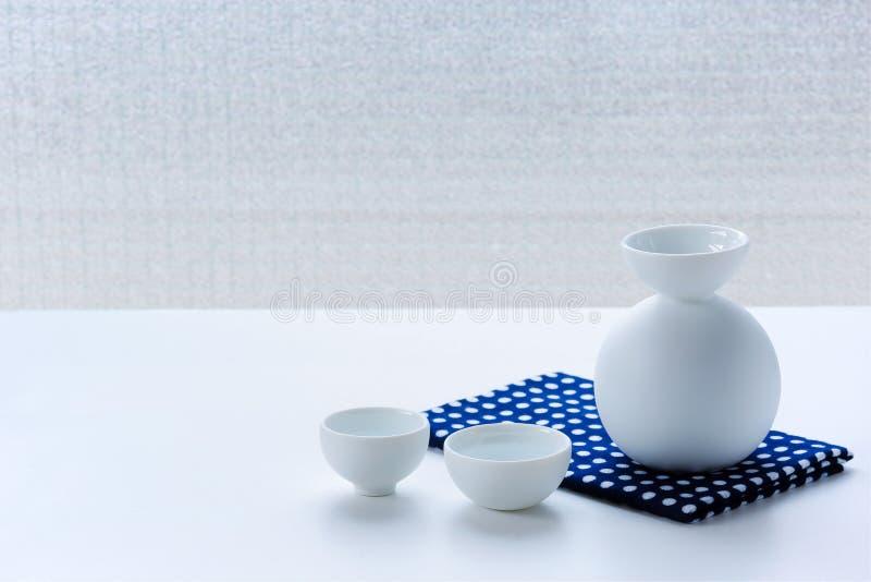 Placez dans l'intéret japonais sur la table blanche image libre de droits