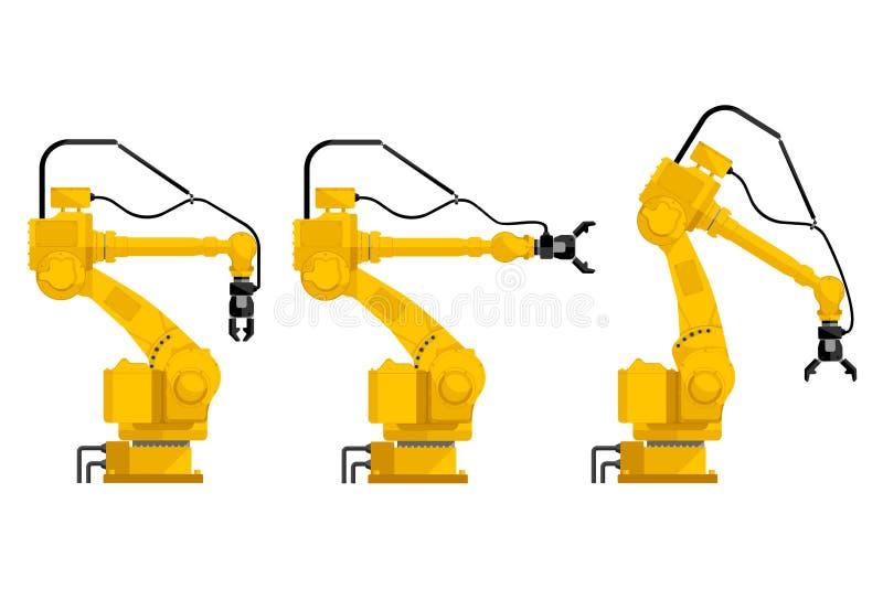 Placez de l'assemblée manipulant des robots illustration libre de droits